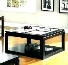 threshold coffee table coffee table espresso finish coffee table espresso finish contemporary style storage box x threshold coffee table