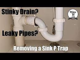 easy fix a leaky sink p trap or clean