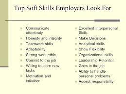 Skills Employers Look For Job Searching 101 Skills Employers Look For January 12 2008