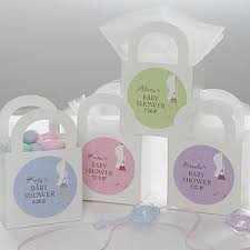 8 X 10 Custom Printed Frosted Baby Shower Gift Bags Set Of 25Baby Shower Personalized Gifts
