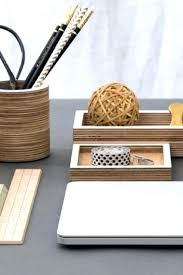 astounding desk accessories elegant desk decor style handcrafted plywood desk accessories add some layout office elegant