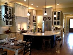 open ceiling lighting. Impressive Lighting Ideas Plan Nice Looking Open Floor Kitchen Concept With Half Round Black Island And White Ceiling Ideas.jpg X