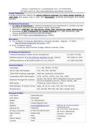 Senior Software Engineer Sample Job Description Resume Testing