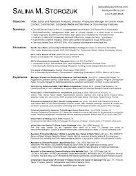 video editor resume nice design video production resume film production  resume template video editor resume sample