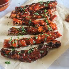 honey barbecue riblets recipe