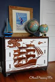 cool painted furniture. reverse stencil dresser i need one of these for every room iu0027m going to pirate ship all our furniture cool painted