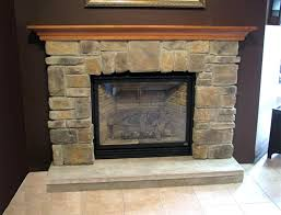 home design singular stone fireplace surround image concept