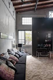 Modern Industrial Bedroom Interior Modern Industrial Bedroom Design Feature Grey With