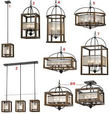 arts crafts mission pendant lights chandeliers organza silk wood iron 9 styles