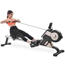 <b>Merax Magnetic Rowing</b> Machine Compact Indoor Rower Home ...