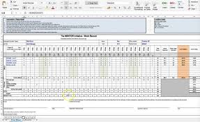 Timesheet Formulas In Excel Excel Timesheet Template With Formulas How Excel Timesheet
