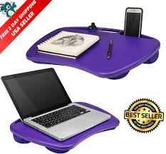 portable laptop desk tablet notebook computer bed pad tray stand lap side table 52162453422