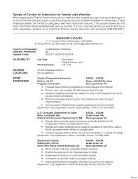 Government Resume Sample Government Resume Samples Job Examples 24 Vesochieuxo 10