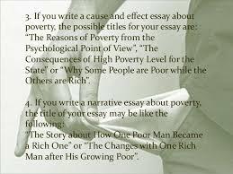 poverty essay 8 1