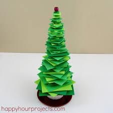 Simple Foam Stacker Christmas Tree  Happy Hour ProjectsFoam Christmas Tree Crafts