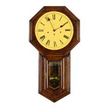 Hamilton wall clock Driven Everything But The House Vintage Hamilton Wall Clock Ebth
