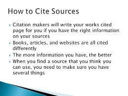 How To Make Work Cited Page How To Write A Work Cited Page Using Websites