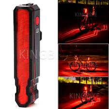 Rear Bike Light Us 15 13 35 Off Rear Bike Light Taillight Safety Warning Usb Rechargeable Bicycle Light Tail Lamp Comet Led Laser Line Ld Cycling Bycicle Light In