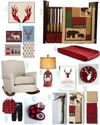 buffalo plaid baby nursery