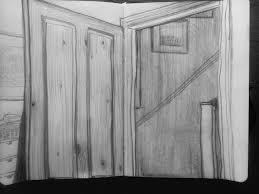open door drawing. Top Half Of Open Door Drawing