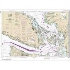 Noaa Chart Books Noaa Chart Strait Of Georgia And Strait Of Juan De Fuca 18400