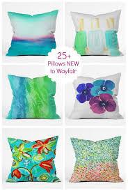 25 throw pillows new to wayfair
