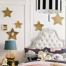 on gold stars wall art with emily and meritt gold star magnets
