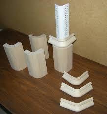 dry wall radius baseboard