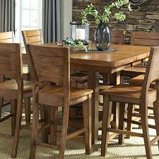 canyon pecan extension pub table 36 inch dining table with extension 36 round extension dining table