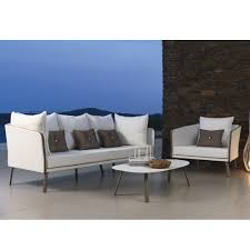 contemporary garden furniture uk. modern garden sofa with aluminum frame milo contemporary furniture uk