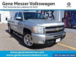 Used Chevrolet SILVERADO 1500 Inventory - Gene Messer Auto Group ...
