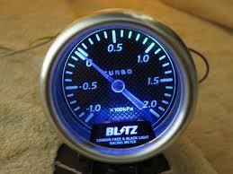 Blitz Black Light Gauges Find Blitz Carbon Face Black Light Boost Gauge Meter Blm