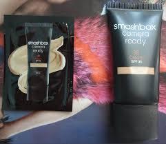 Smashbox Bb Cream Light Medium Swatch Smashbox Camera Ready Bb Cream Spf 35 Fairytales And Coffee