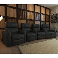 octane turbo xl700 4 seater curved bonded leather home theater seating com