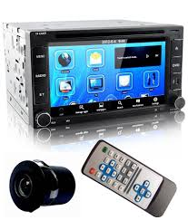 clarinet digital touch screen universal car dvd player with bluetooth rear