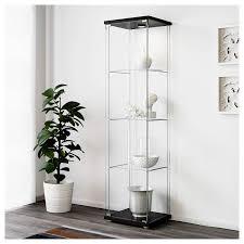 Amazoncom Ikea 10119206 Glass Door Cabinet Black Brown Kitchen