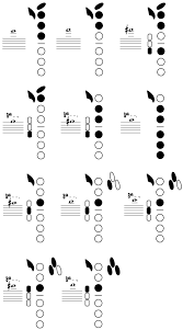Altissimo Clarinet Chart Baritone Fingering Chart Gallery Of Chart 2019
