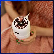 Máy khuếch tán tinh dầu cho ô tô, phun sương tạo ẩm, lọc sạch không khí - khử  mùi hiệu quả- HUMIDIFIER