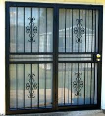 securing sliding glass door sliding glass door security patio security doors security doors for sliding glass