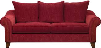 The Brick Living Room Furniture Reese Chenille Sofa Red The Brick