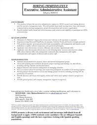 Sample Resume For Administrative Assistant Sample Resume Client Relationship Executive Client Samples Of 49