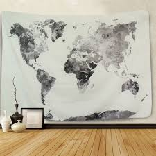 image is loading world map wall tapestry wall hanging living room