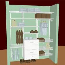 Kids Closet White Ventilated Shelving Storables