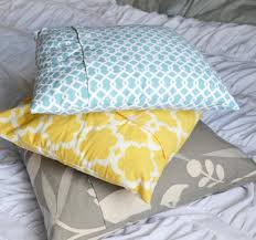 chic no sew throw pillow covers