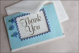 Homemade Card Templates Homemade Thank You Ideas Handmade Thankyou Card 3b