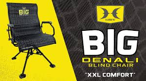 the most comfortable hunting blind chair big denali by hawk