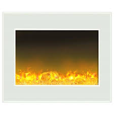 fire and ice fireplace amantii zecl fire ice series built in zero clearance electric led fire and ice electric fireplace 54