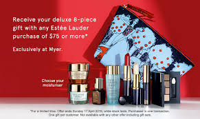 estee lauder receive your deluxe 8 piece gift with any estee lauder purchase of 75
