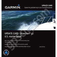 Us Marine Detail Map Bluechart G2 Update Card