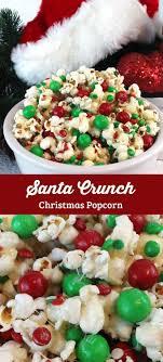 Santa Crunch Popcorn. Christmas PopcornChristmas Party ...